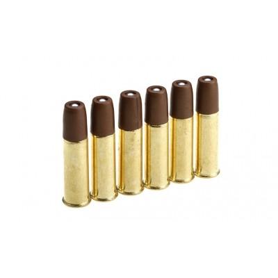 Набор из 6 патронов для револьверов