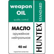 Масло оружейное нейтральное «HUNTEX standart» (40 мл)