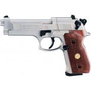 Пистолет пневматический Umarex BERETTA M 92 FS nickel wood